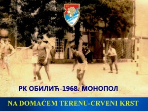 Handball-Rukomet-RK Obilic-1968.