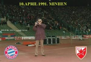 10.APRIL 1991.-BAYERN-FK CRVENA ZVEZDA