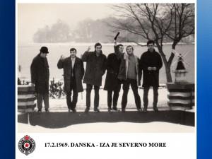 HANDBALL RK PARTIZAN 1969.