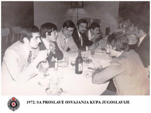 HANDBALL RK PARTIZAN 1972.