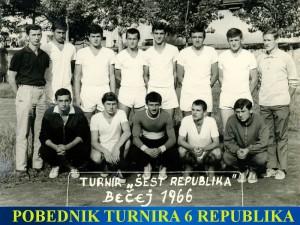 Handball-Rukomet-jun.rep. Srbije1966.