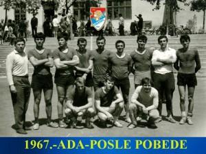 Handball-Rukomet-RK Obilic-1967.