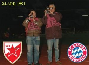 24.4.91 1991-FK CRVENA ZVEZDA-BAYERN