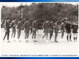 HANDBALL REPREZENTACIJA SRBIJ 1.MAJ 1972.