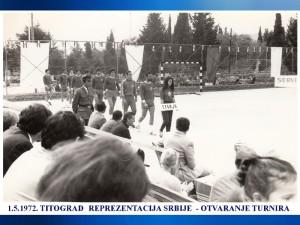 HANDBALL REPREZENTACIJA SRBIJE 1.5.1972