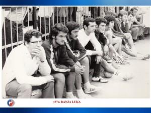 HANDBALL RK CRVENA ZVEZDA 1974 BANJA LUKA