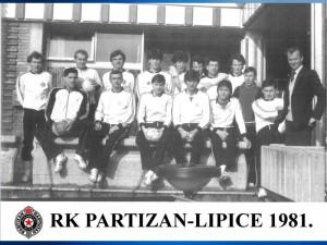 Handball RK Partizan 1981
