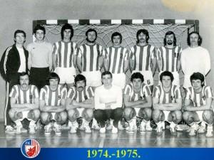 Handball-Rukomet-Crvena Zvezda 1974/75