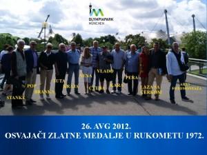 Olympiapark Munchen 2012.