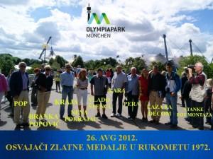Olimpiapark München 2012.