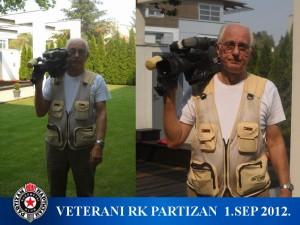 Handball-RK Partizan-veterani 2012.