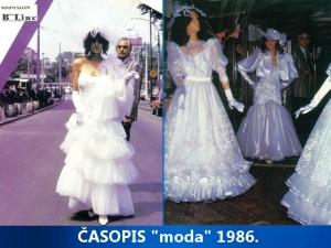 Časopis moda 1986