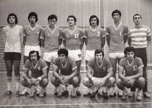 Handball-Rukomet-RK Crvena.Zvezda 1975.